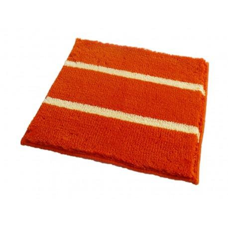 Badematte Badteppich Badvorleger IRSINA Orange